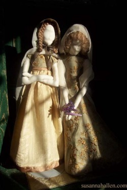 First Sculpted DOll with Dress