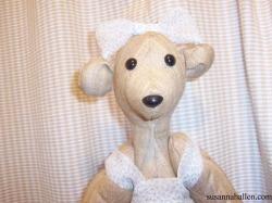 First Silk Teddy Bear