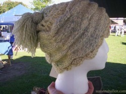 First Hat blendeing Knitting and Crochet